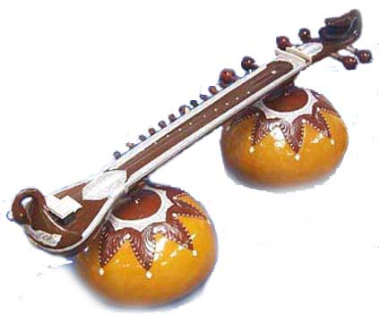 Vichitar Veena for sale image. This image is copyright �2003 Batish Institute. Unauthorized copying or displaying on another site is strictly prohibited