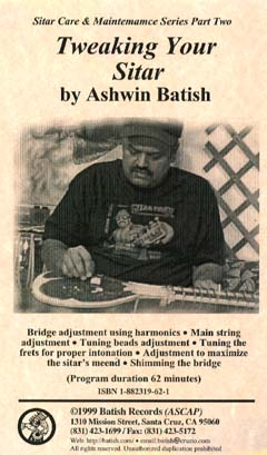 Sitar Repair Tutor 'Tweaking Your Sitar' image. All content is copyright �1990 - 2003 Batish Records. www.batish.com. All rights reserved.